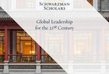 Photo of ONE-YEAR MASTERS OF GLOBAL AFFAIRS: SCHWAZRMAN SCHOLARSHIP-FULL SCHOLARSHIP