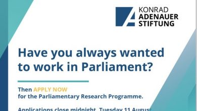 Photo of KONRAD ADENAUER FOUNDATION KAS: PARLIAMENTARY RESEARCH PROGRAM: FULLY FUNDED